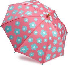 b90270fe97f Hatley Girls 2-6X Blue Flowers Umbrella  19.99 -  22.95 Cute Umbrellas