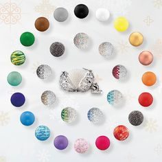 Each colour comes with its own meaning. #Engelsrufer #Soundball #Angel #Whisperer #Health #Wealth #Energy #Jewellery #Colours - Shop now for engelsrufer_uk_ireland > http://ift.tt/1Ja6lvu