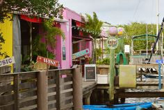 Walk – or Boat – to Art Galleries, Bars, and Your Hotel in the Historic Fishing Village of Port Salerno, Florida