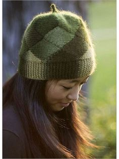 Free knitting pattern for Short Row Hat - Veronik Avery designed this beanie that creates a checkerboard pattern with short rows. Great for multi-color yarn. (scheduled via http://www.tailwindapp.com?utm_source=pinterest&utm_medium=twpin&utm_content=post28030002&utm_campaign=scheduler_attribution)