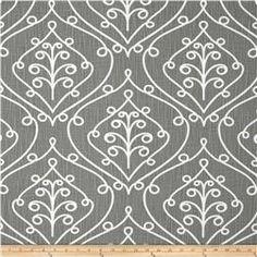 Premier Prints Barcelona Miller Slub Sumerland Grey Fabric