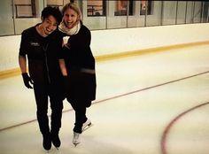 With Lori Nichol(choreographer)