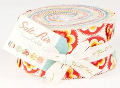 "Cosmo Cricket SALT AIR Jelly Roll 2.5"" Fabric Quilting Strips Moda 37020JR"