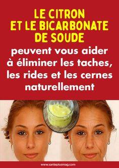 Le citron et le bicarbonate de soude peuvent vous aider à éliminer les taches, les rides et les cernes naturellement Paleo Diet Weight Loss, Weight Loss Meal Plan, Best Weight Loss, 21 Day Fix Diet, Start A Diet, Whole 30 Diet, Whole Food Diet, Best Diet Supplements, Easy Diets To Follow