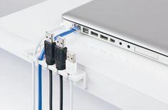 CableStrip Desk Cable Organizer