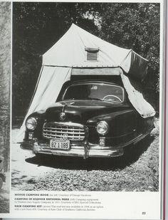 Roof tent car and van camping