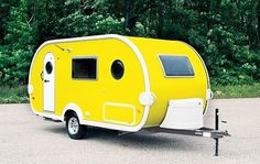 """TaDa travel trailer....very cute but not a lot of head room....I am 5'8"""" and only had a couple of inches from the ceiling"""