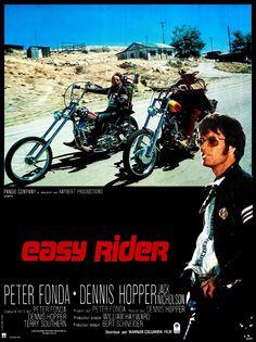 Easy Rider vintage movie poster