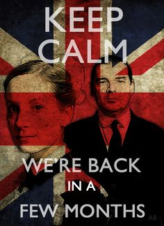 Keep calm! The last  few moments of season three were so hard to watch... Not sure if I can wait...