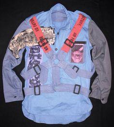 SEDITIONARIES Parachute shirt