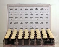 I keep my Stampin' Sponges in this box so they're easy to find and use.