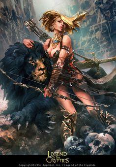 Digital Art and wallpaper showcase of anime art, fantasy art, sci fi art, wallpapers and illustrations. Fantasy Women, Fantasy Girl, Dark Fantasy, Warrior Girl, Fantasy Warrior, Fantasy Characters, Female Characters, Digital Art Gallery, Fantasy Pictures
