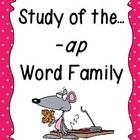 This unit provides plenty of fun, learning centered around the -ap word family! Students will have plenty of practice learning new words, writing t...