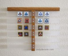 Did you know that Belt Loops will end in 2015. This is a great way to display them for my sons room.