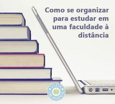 Dicas pontuais para ajudá-lo(a) a se organizar para estudar em uma faculdade à distância, assim como para outros cursos online, como idiomas, pós-graduação e cursos livres.