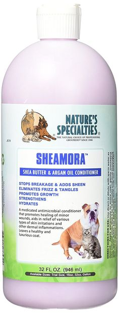 Nature's Specialties Medicated Antimicrobial Conditioner, 32-Ounce >>> See this great product. (This is an affiliate link and I receive a commission for the sales)