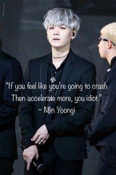 bts quotes If you feel like youre gonna crash, get - quotes Bts Suga, Bts Taehyung, Bts Lyrics Quotes, Bts Qoutes, Bts Wallpaper Lyrics, Ikon Wallpaper, Emoji Wallpaper, Wallpaper Desktop, Wallpaper Quotes