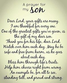 Wish Quotes For My Sons 3  A Moms Love For Her Son  Pinterest  Happy