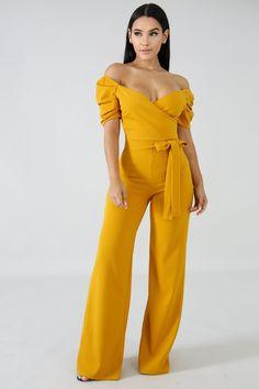 4d0a8b1748e 19 Best yellow jumpsuit images