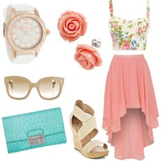 Absolutely gorgeous spring/summer outfit! I need this! <3