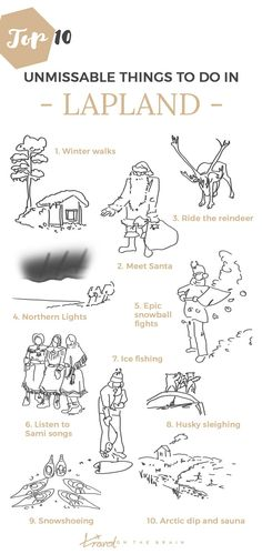 10 Unmissable Reasons to Visit Lapland this Year. Click the image to find out…