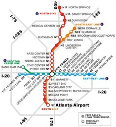 View the MARTA station rail map below or view MARTA stations in an interactive map with streets. Explore MARTA station guides to learn more about destinations near each station and see MARTA Trip P…