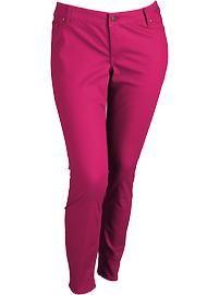 Women's Plus Size Clothes: Pop Color Jeans | Old Navy