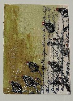 Crackle Paint on Acrylic