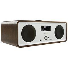 Ruark R2i DAB Audio iPod Integrated Music System, Walnut