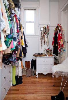 Krystal's closet (her blog: http://thistimetomorrow-krystal.blogspot.com)