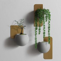 Decorate your home with your favorite green plants with the elegant art-deco Christophe Modern Wall Planter! Made from durable, eco-friendly metal cement. Free Worldwide Shipping & Money-Back Guarantee Metal Wall Planters, Decorative Planters, Modern Planters, Indoor Planters, Diy Planters, Cement Planters, Tall Planters, Flower Planters, Ceramic Planters