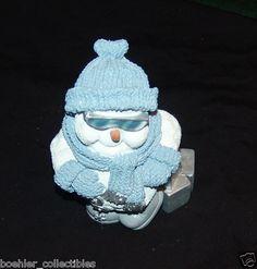 "Snow Buddies Penguin Figurine With Sunglasses 6"" Tall"