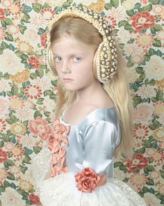 Available for sale from Zipper Galeria, Adriana Duque, Princesa 2 (from the Princesas series) Photographic print, 160 × 140 cm Art Photography Portrait, Fantasy Photography, Adriana Duque, Fairytale Art, Contemporary Photographers, Art For Sale, Photo Art, Kids Outfits, Flower Girl Dresses