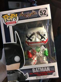 Custom DC Comics Jokers Wild Batman Figure Batman Funko Pop Figure
