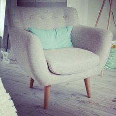 Home chair retro stoel