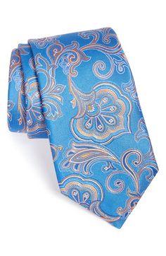 Men's Nordstrom 'Fancy Paisley' Silk Tie