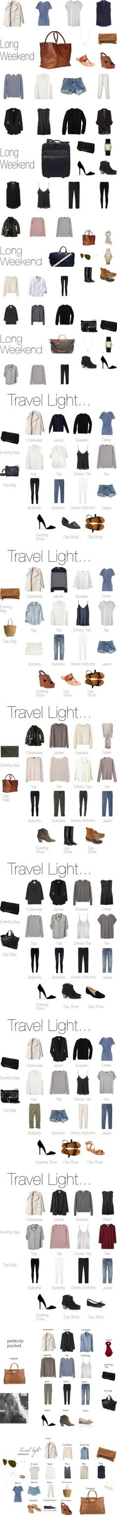 Mix and match. #travel #style