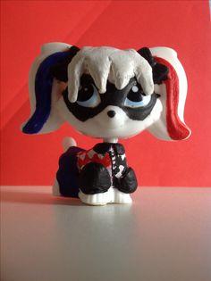 LPS custom: Harley Quinn (DC SuperHero Girls versie)
