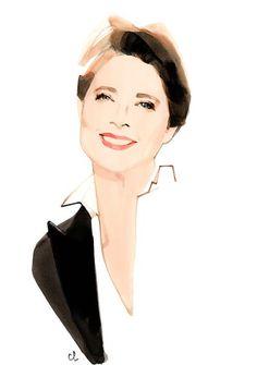 #Lancome #Isabella Rossellini