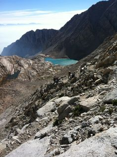 Hiked Mt Whitney in a day, a very long day but well worth it!