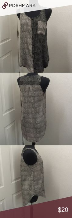 Anthropology top Anthropology top beautiful never used perfect for summer can be like a tunic too  really nice lush brand for anthropology Anthropologie Tops Tunics