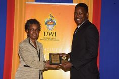 Celebrating our Top Achievers!    #MSBM wishes to convey special congratulations to Fitzroy Adams (R) for Best Academic Performance in the #Accounting Programme (Full-Time)! He received his award from Dr. Twila Mae Logan (L), Deputy Executive Director, MBA and Diploma Programmes (Acting), MSBM, at the Faculty of Social Sciences Graduate Awards Ceremony held at Mona Visitors' Lodge on Thursday, November 30, 2017.    #ForwardThinking #TopAchievers #Congrats #ExcellenceJA #GraduatingClass2017