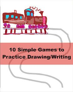 10 Simple Games to Practice Drawing and Handwriting -  Pinned by @PediaStaff – Please Visit http://ht.ly/63sNt for all our pediatric therapy pins