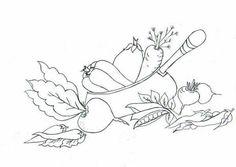 Artes Raquel Garcia Riscos Para Pintura Legumes Verduras