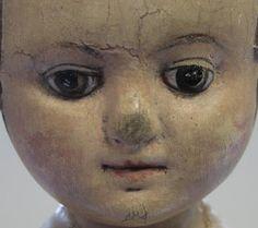 Town Common Folk Art Dolls: Izannah Walker Dolls : Study Gallery