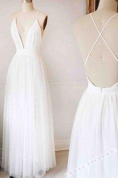 db6218104d4 Sexy Tüll tiefes V-Ausschnitt langes Kleid