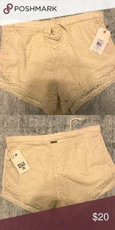 Billabong Lace Shorts Summer Lace Shorts NWT Billabong Shorts