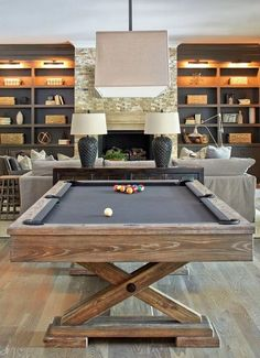 Browse photos of Basement Rec Room. Find ideas and inspiration for Basement Rec Room to add to your own home. See more ideas about Game room basement, Game room and Finished basement bars. Design Living Room, Family Room Design, Cozy Living Rooms, Game Room Basement, Basement Bedrooms, Basement Ideas, Dark Basement, Basement Decorating, Basement Plans