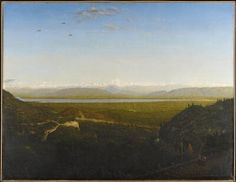 view of mont blanc, seen from la faucille rousseau - Google Search