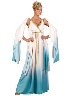Greek Goddess Adult Costume from CostumeExpress.com